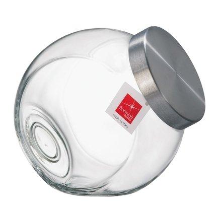 Банка для сыпучих продуктов Pandora (2.2 л), матовая белая