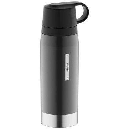 Термос с 2 чашками GVEN (1 л), серый 735111 Nadoba