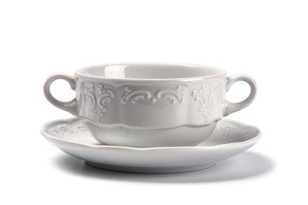 Бульонная пара Didon (300 мл), 10х5.5 см 093830 Tunisie Porcelaine