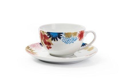 Набор чайных пар Ilionor (210 мл), 6 шт. 619503 2227 Tunisie Porcelaine