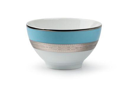 Салатник Monaco Bleu Turquoise, 13 см 533913 1626 Tunisie Porcelaine