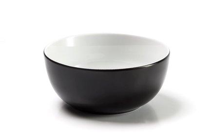 Салатник Putoisage noir, 13 см, черный 553913 3063 Tunisie Porcelaine