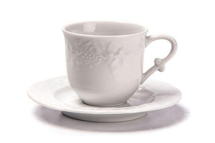 Чайная пара Vendange (200 мл), белая 693520 Tunisie Porcelaine