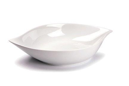 Блюдо овальное глубокое Feuille, 36х22х6.5 см 730736 Tunisie Porcelaine блюдо овальное 33см лист белый