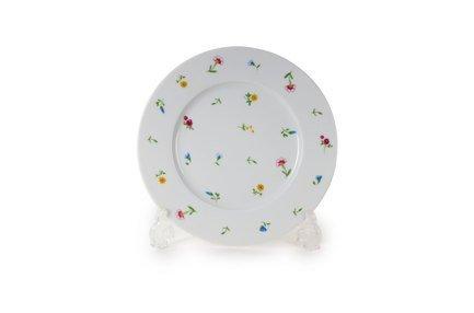 Тарелка десертная Английский сад, 21 см 6100121 2466 Tunisie Porcelaine