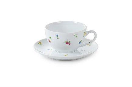 Чайная пара Английский сад (200 мл) 6103520 2466 Tunisie Porcelaine