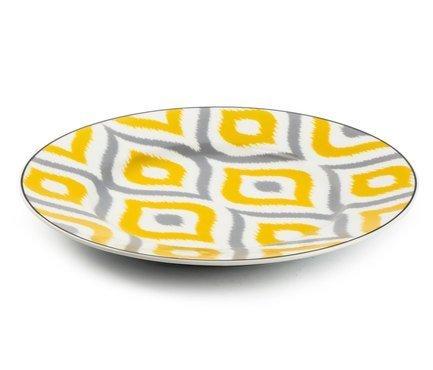 Десертная тарелка Огненный Павлин, 22 см 5300122 2372 Tunisie Porcelaine тарелка десертная tiffany or 22 см 5300122 1785 tunisie porcelaine