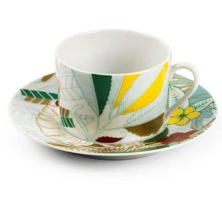 Чайная пара Остров (220 мл) 5303522 2370 Tunisie Porcelaine