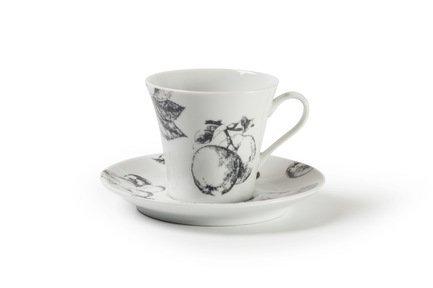 цена Кофейная пара Buffet & Catering (100 мл) 733510 Tunisie Porcelaine онлайн в 2017 году