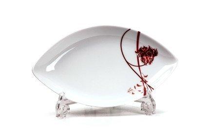 Блюдо овальное блюдо Kyoto Noblesse Rouge, 26 см 711826 0753 Tunisie Porcelaine блюдо овальное 33см лист белый