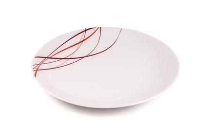 Тарелка Monalisa, 27 см, белая 720127 0540 Tunisie Porcelaine