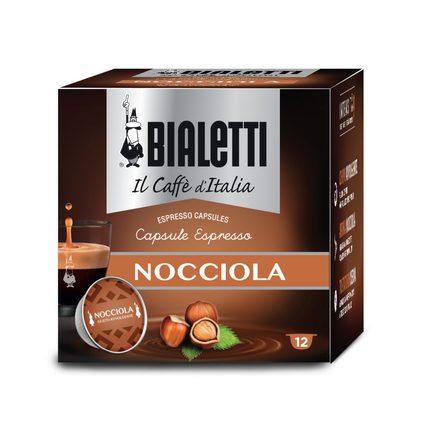 цена Кофе Nocciola в капсулах для кофемашин Bialetti, 12 шт 096080222/M Bialetti онлайн в 2017 году