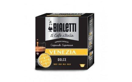 Кофе Venezia в капсулах для кофемашин Bialetti, 16 шт 096080071/M Bialetti цена и фото