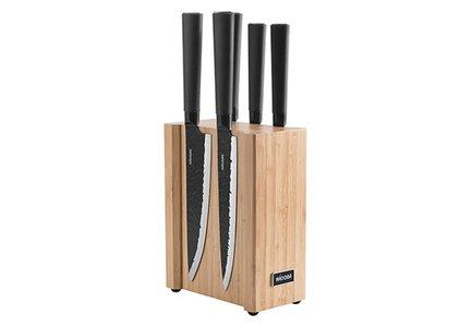 Набор кухонных ножей на магнитном блоке Horta, 6 пр 723616 Nadoba