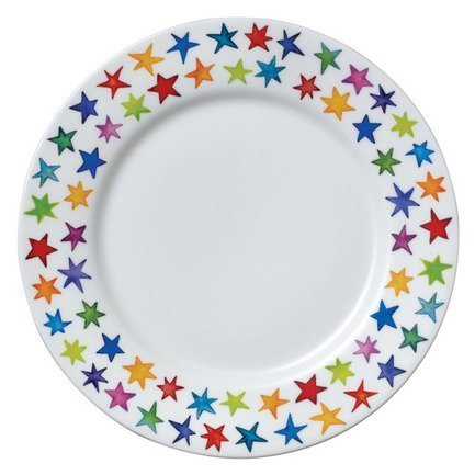 цена на Тарелка закусочная Звездная пыль, 22 см DNN78150039 Dunoon
