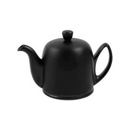 Чайник заварочный Salam Mat Black (0.7 л), с колпаком, на 4 чашки