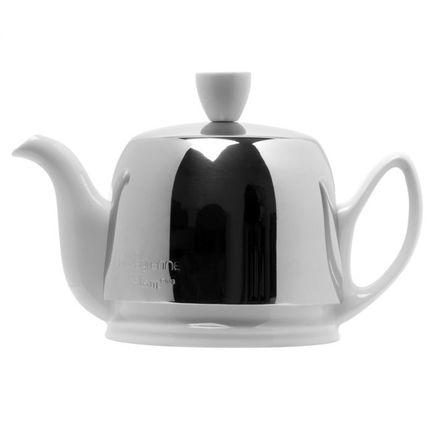 Чайник заварочный Salam White (0.37 л), с колпаком, с ситечком, на 2 чашки