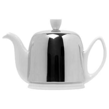 Чайник заварочный Salam White (0.7 л), с колпаком, на 4 чашки