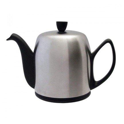 Чайник заварочный Salam Mat Black (1 л), с колпаком, с ситечком, на 6 чашек