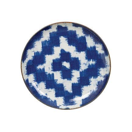 Тарелка Burashi, 25 см, темно-синяя
