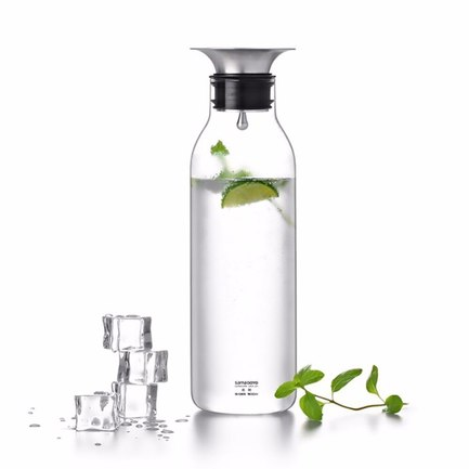 Графин Water bottle (900 мл) S'065 Samadoyo чайник stainless steel infuser 900 мл s 053 samadoyo