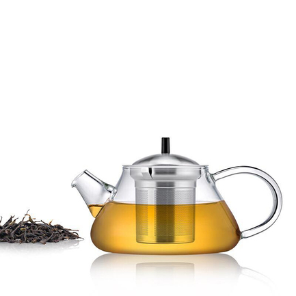 Чайник Glass Tea Pot (250 мл) S'056 Samadoyo чайник stainless steel infuser 900 мл s 053 samadoyo