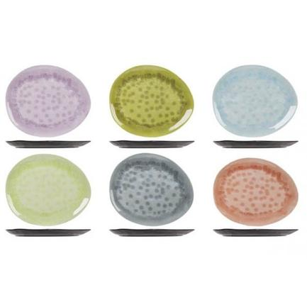 Тарелка Streetfood melamine, 15 см, цвет в ассортименте 5321015 Roomers