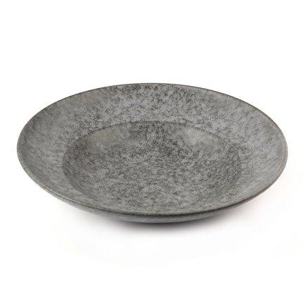 Тарелка E608, 28 см, серая E608-P-12088 Roomers