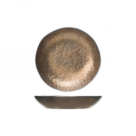 Тарелка глубокая Copernico, 21.3 см, цвет золото