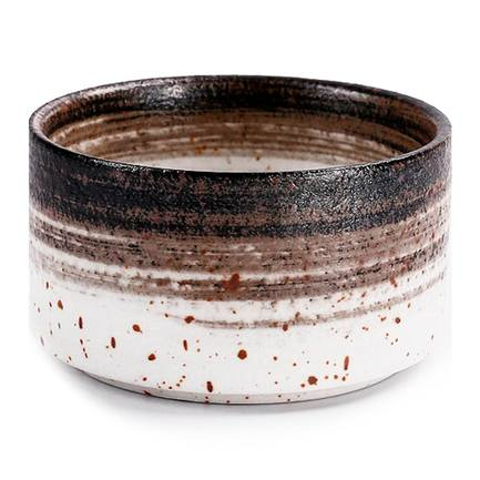 Чаша E633, 9.5 см, темно-коричневая E633-B-04039 Roomers чаша e669 23 5 см коричневая e669 b 06198 23 5cm roomers