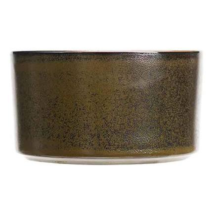 Чаша Yucatan, 19 см, коричневая