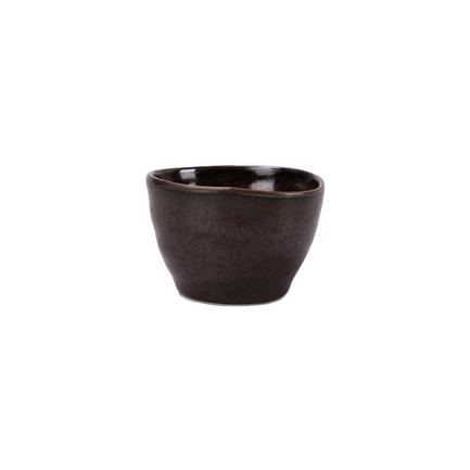 Чашка E665, 8.5x8.5x5.5 см, черная E665-C-04176 Roomers тарелка глубокая e665 24 5 см черная e665 p 08168 24 5cm roomers