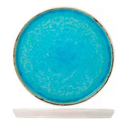 Тарелка Laguna Azzurro, 27 см, голубая 1461203 Roomers