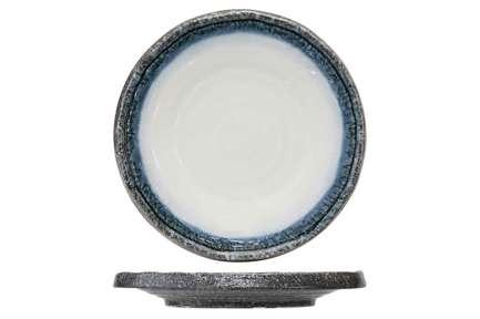Тарелка Sea Pearl, серо-голубая 9632027 Roomers