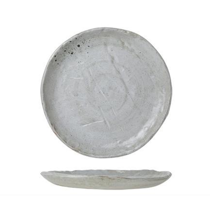 Тарелка Dolmen, 27 см, серая 6624027 Roomers
