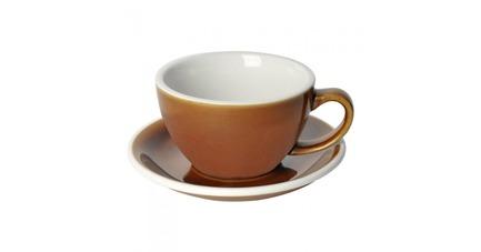 Чайная пара Egg (250 мл), карамель C088-102BCA/C088-67BCA Loveramics