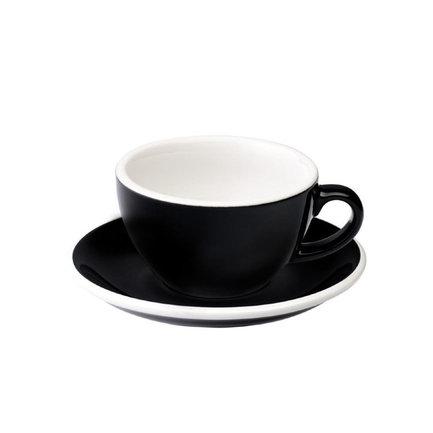 Чайная пара Egg (200 мл), черная C088-21BBK / C088-22BBK Loveramics