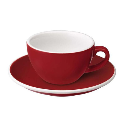Фото - Чайная пара Egg (150 мл), красная C088-59BRE/C088-28BRE Loveramics чайная пара mercury 150 мл керамика