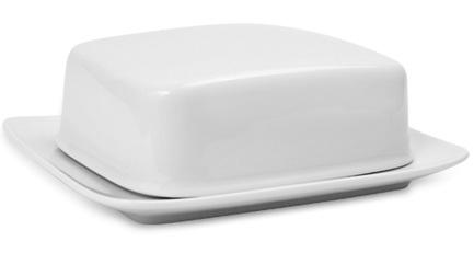 Масленка с крышкой Compact, белая 001.458037 Seltmann масленка с крышкой thun масленка с крышкой