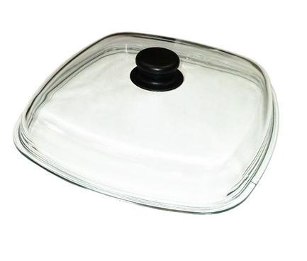 Крышка стеклянная квадратная 26*26 см КВ260С TVS