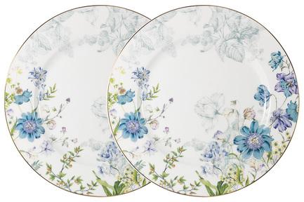 цена на Набор обеденных тарелок Лазурь, 26.5 см, 2 шт AL-1324-DP-P4 Anna Lafarg