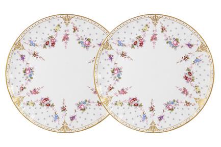 Набор десертных тарелок Ла-Рошель, 20.5 см, 2 шт. C2-AP_2-K8101 Colombo цена и фото