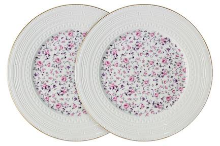 Набор обеденных тарелок Стиль, 27 см, 2 шт. C2-DR_2-6402AL Colombo цена и фото