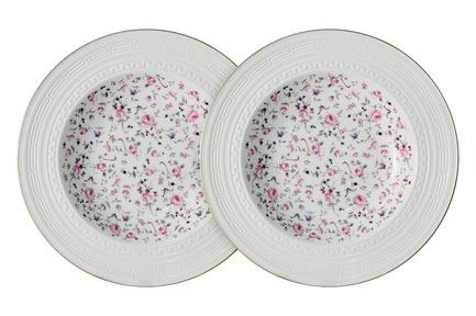 Набор суповых тарелок Стиль, 23 ссм, 2 шт. C2-SP_2-6402AL Colombo