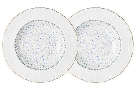 Набор суповых тарелок Грация, 23 см, 2 шт. C2-SP_2-K2126 Colombo