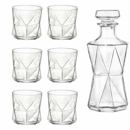 Набор для виски Cassiopea, 7 пр 234525S01021990 Bormioli Rocco набор для виски selecta 7 пр в подарочной упаковке 226041sn2021990 bormioli rocco