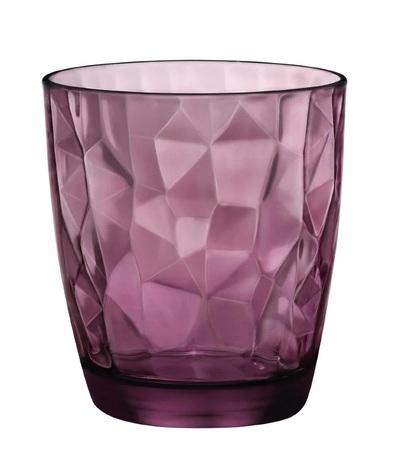 Стакан низкий Diamond Rock Purple (305 мл) 350230M02321990 Bormioli Rocco