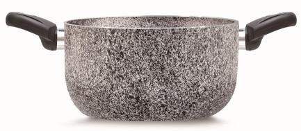 Кастрюля BioStone Vesuvius (2.5 л), 20 см PEN 8012 Pensofal кастрюля diamante 3 л 20 см pen 3316 pensofal