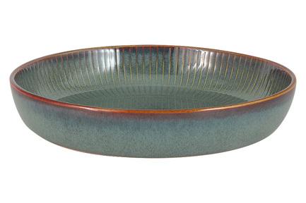 Салатник-тарелка для пасты Comet, 23 см, морская волна JV-HL864630 Julia Vysotskaya салатник bernadotte охота диаметр 23 см