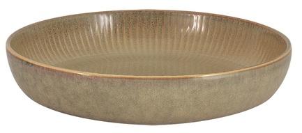 Салатник-тарелка для пасты Comet, 23 см, песочная JV-HL864630-BR Julia Vysotskaya салатник bernadotte охота диаметр 23 см